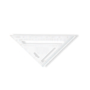 ALUMINUM TRIANGULAR TRY SQUARE
