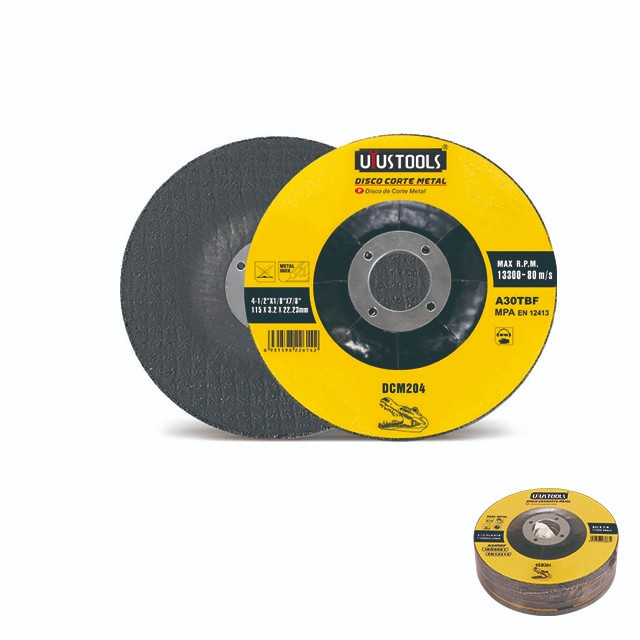 FIBRE STRENGTHENED RESIN CUTTING WHEEL