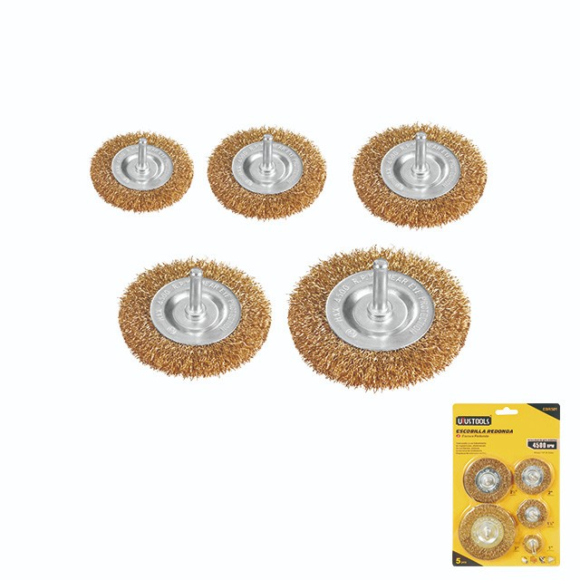 5 PIECE WIRE BRUSH SET