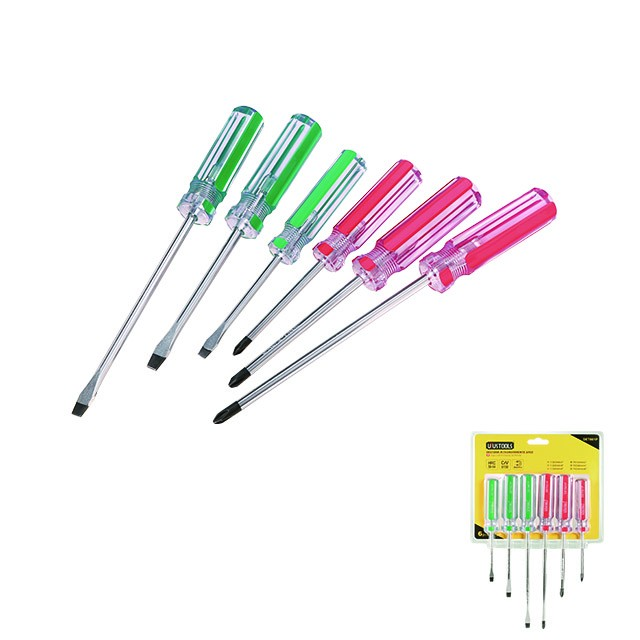 6 PIECE SCREWDRIVER SET
