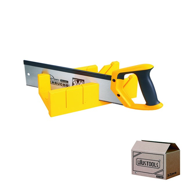 MITRE BOX WITH SAW