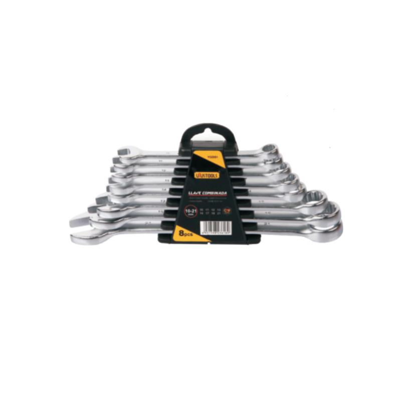 8 PIECE COMBINATION WRENCH SET